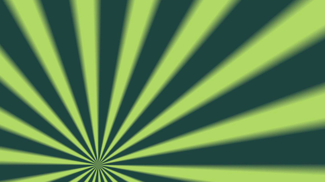 Rotating Green Sunburst Free Motion Background