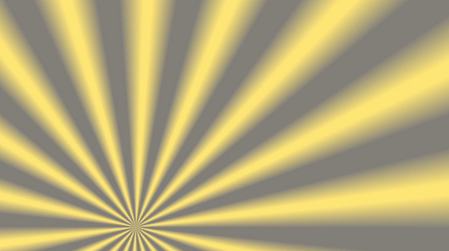 Rotating Yellow and Grey Sunburst Motion Background