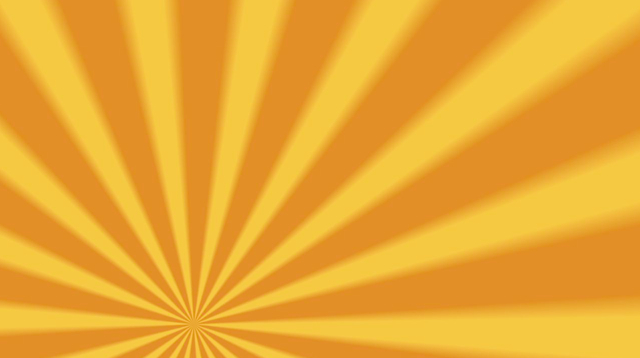 Rotating Yellow and Orange Sunburst Worship Background