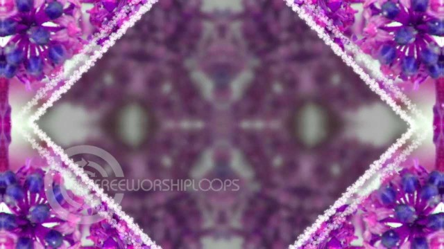 Frozen Berries Kaleidoscope Background