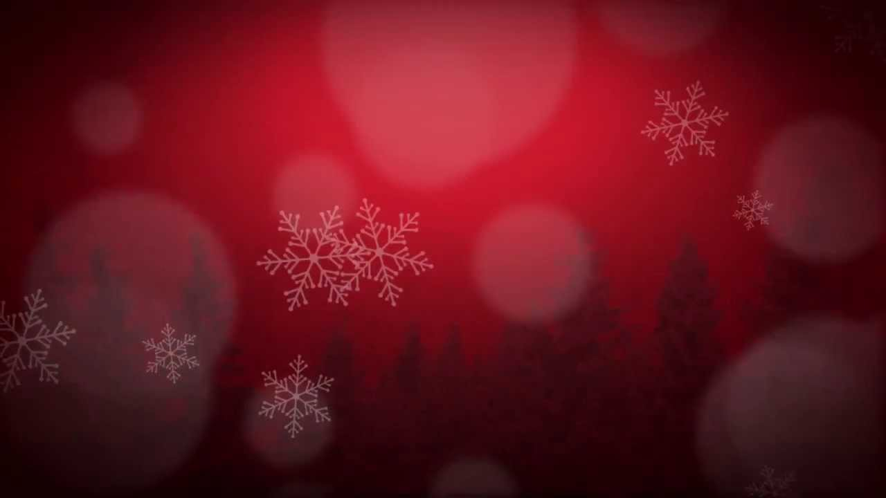 Red Scenic Winter Worship Media – Seamless Loop