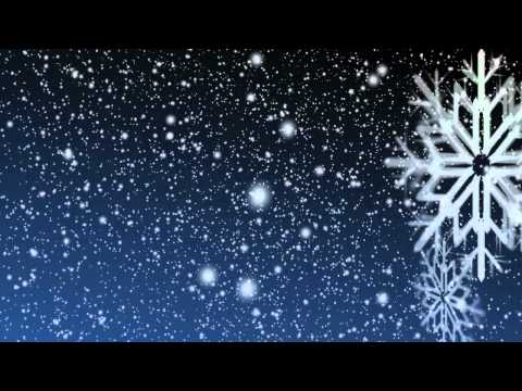 Snowy Night 2 – Looping Video Background