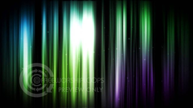 Colorful Lines of Light Motion Background