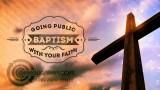 Cross and Sky Baptism Bumper