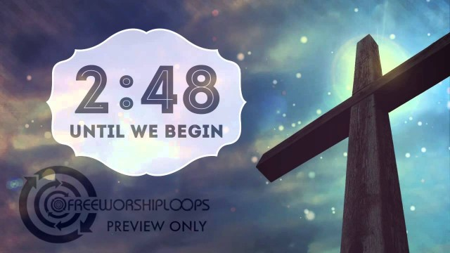 Cross and Sky Countdown Video
