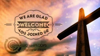 Cross and Sky Welcome Bumper Worship Video