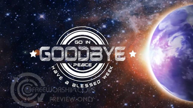 Rotating Earth Goodbye Bumper Video