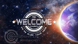 Rotating Earth Welcome Bumper