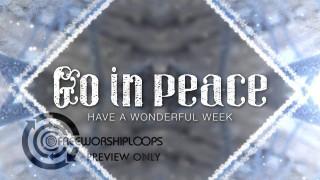 Winter Kaleidoscope Go In Peace Bumper Video