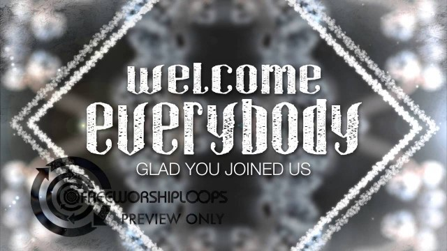 Winter Kaleidoscope Welcome Everybody Intro Bumper