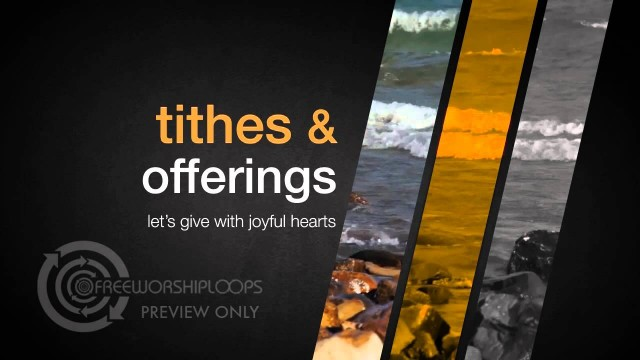 Slices Of Heaven Tithes and Offering Videos