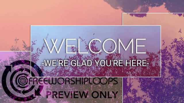 Reflections Welcome Intro Bumper Title Graphic